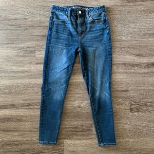 American Eagle Outfitters Super Hi-Rise Jeans